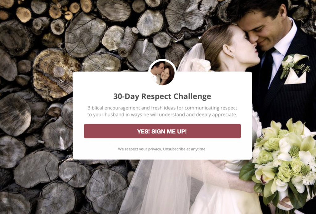 30-Day Respect Challenge