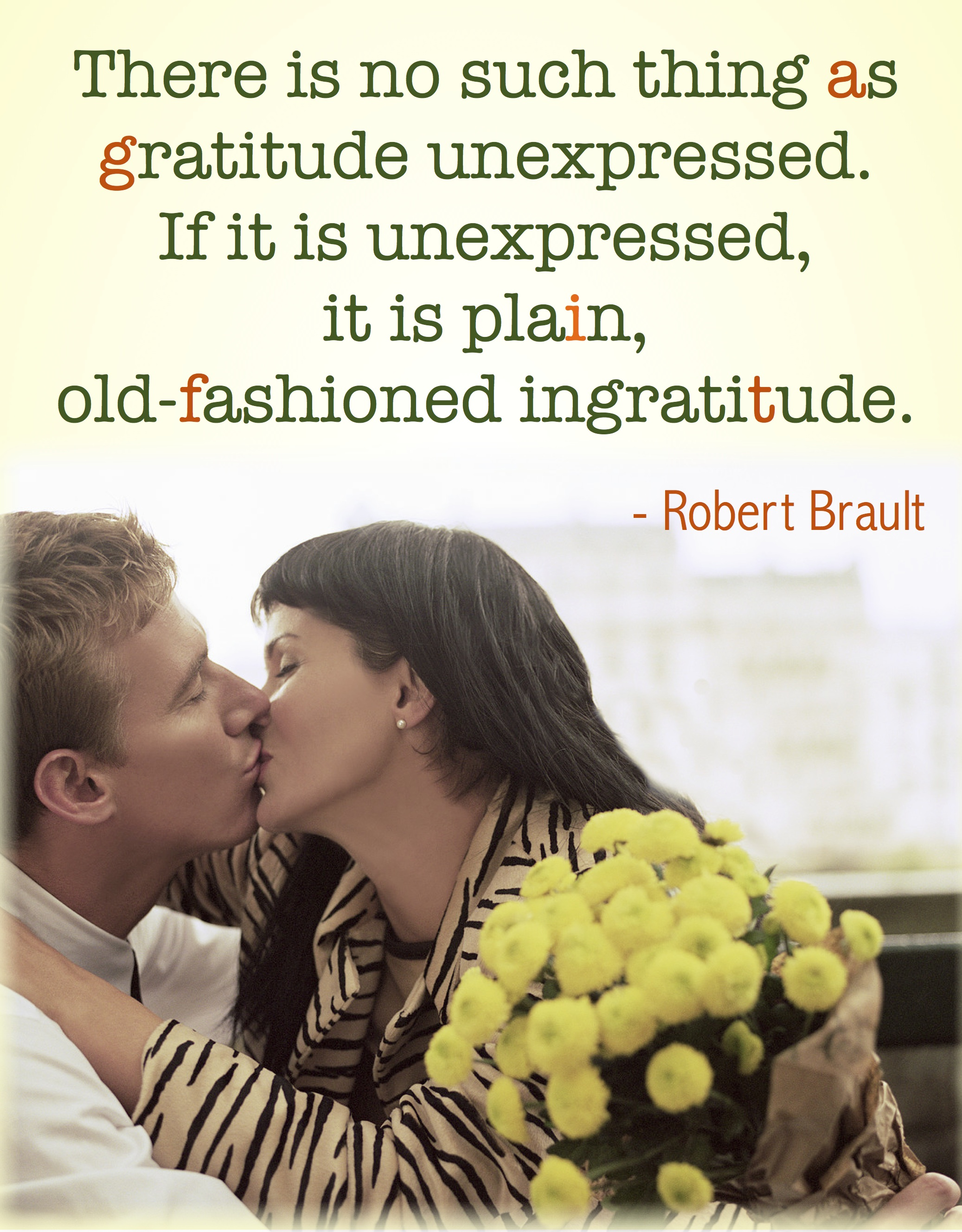 Be Thankful… and Give Thanks!