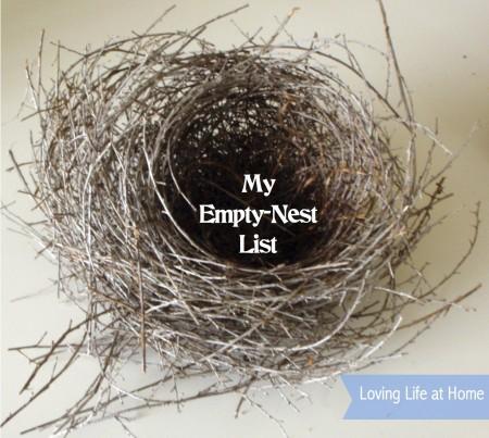 My Empty Nest List