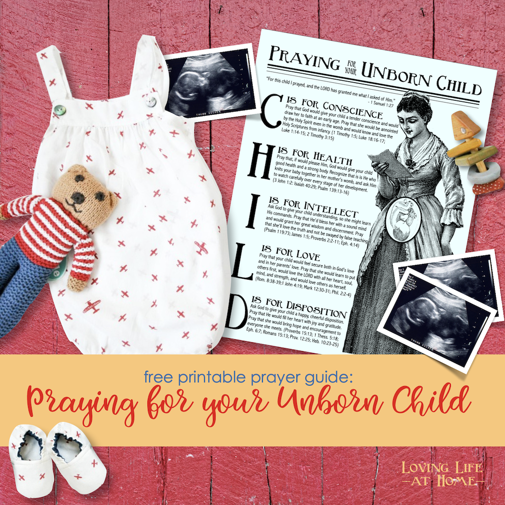 Praying for Your Unborn Child