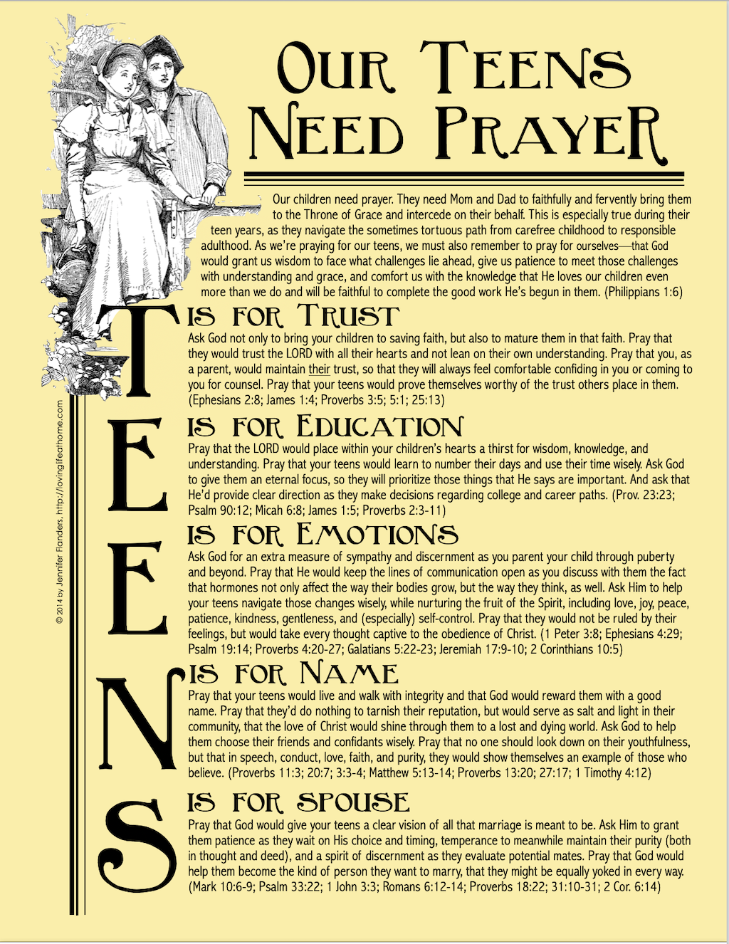 Our Teens Need Prayer