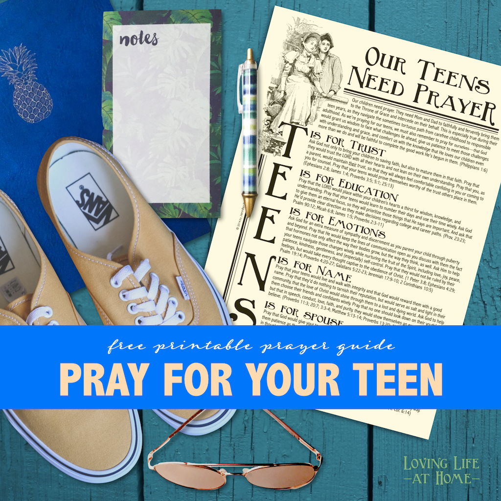 Pray for Your Teens