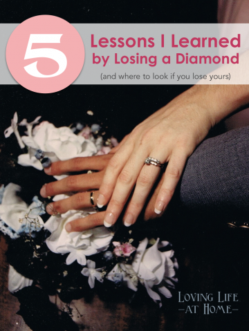 5 Lessons I Learned by Losing a Diamond