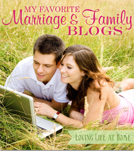 My Favorite Marriage and Family Blogs