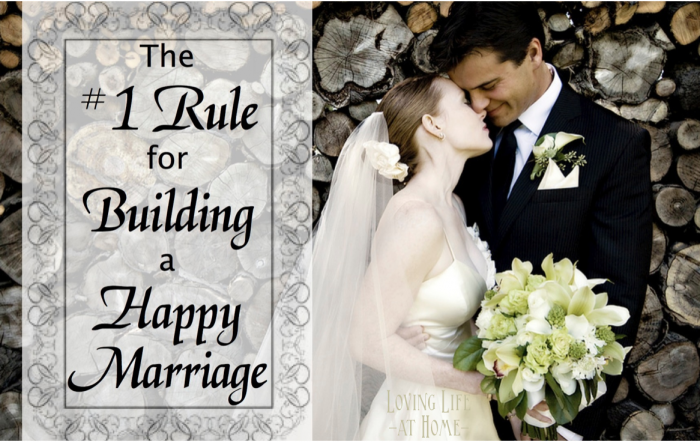#1 Rule for Marriage