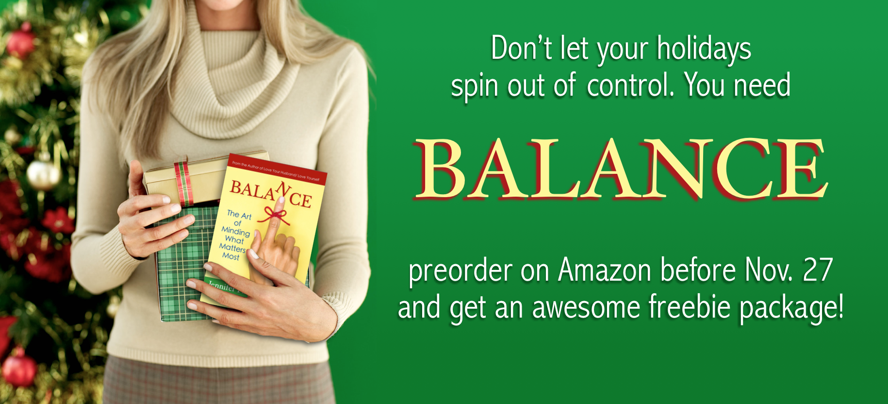 Balance: The Art of Minding What Matters Most. Now available for pre-order!