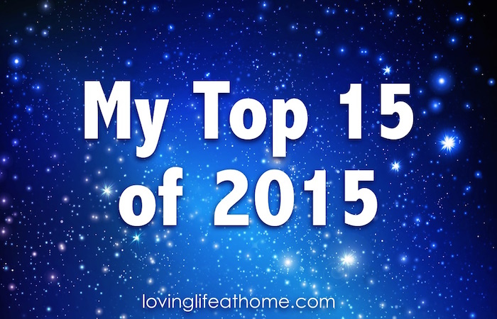 My Top 15 Posts for 2015
