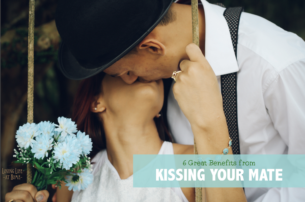 6 Benefits to Kissing Your Mate