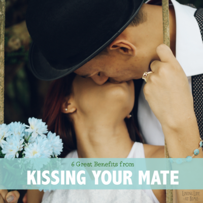 6 Great Benefits to Kissing Your Mate