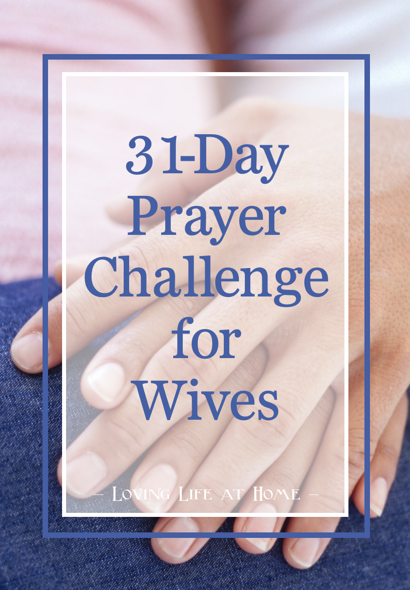 31-Day Prayer Challenge for Wives