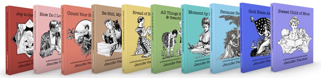 Devotional Journals by Jennifer Flanders