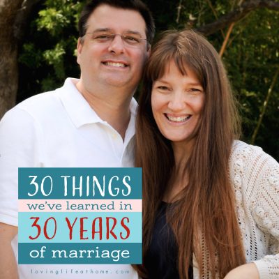 Secrets of Success: 30 Lessons Learned in 30 Years of Marriage