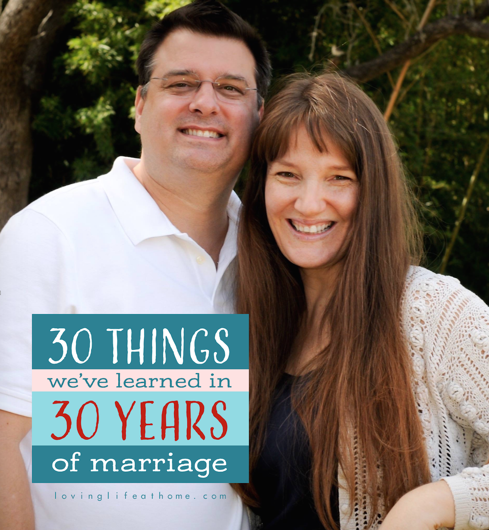 Secrets to Success: 30 Lessons Learned in 30 Years of Marriage