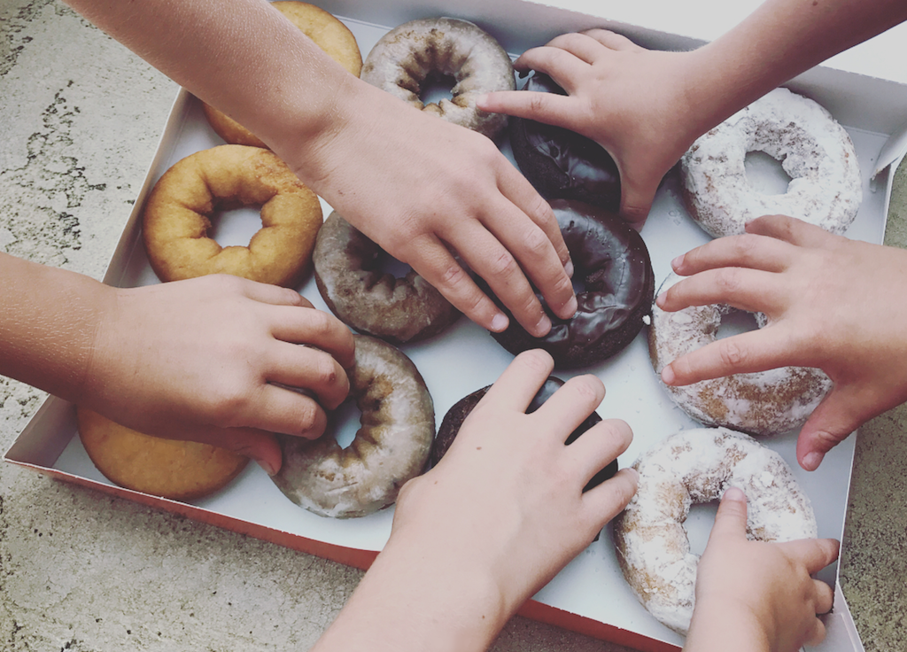 On Creme Filled Donuts and Other Causes for Celebration