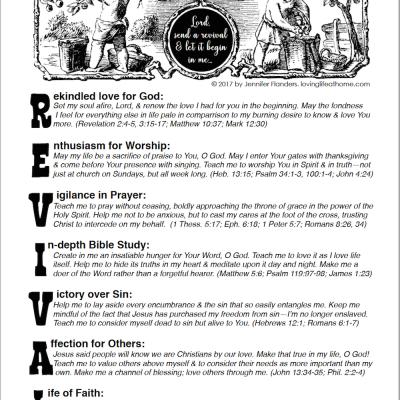 A Prayer for Revival