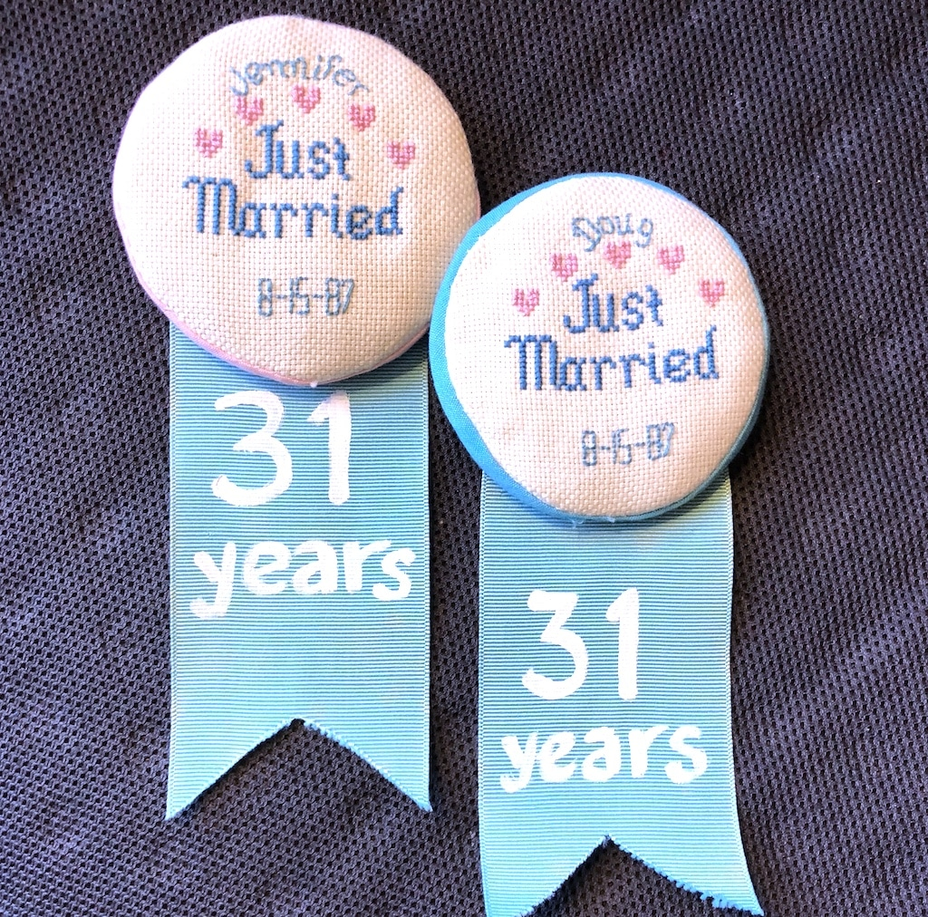 Just Married Badges