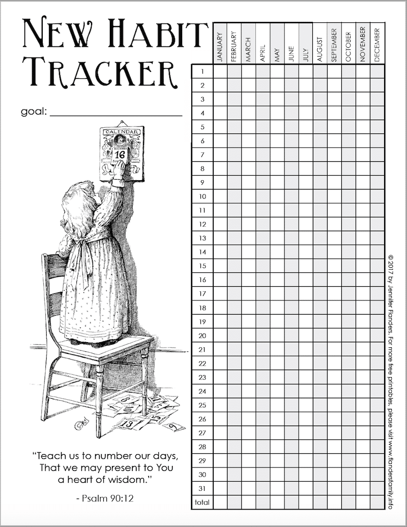 New Habit Tracker