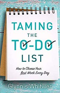 Taming Your To Do List-- one of my top 10  books of 2018