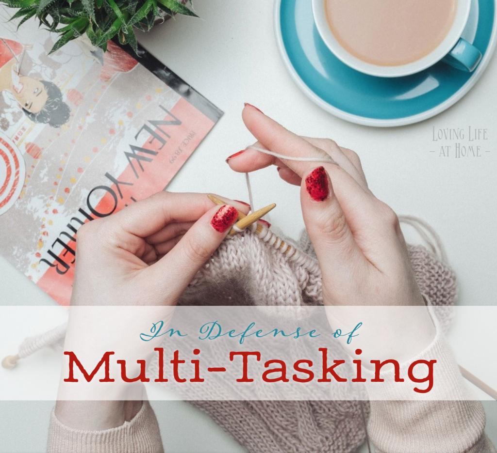 In Defense of Multi-Tasking