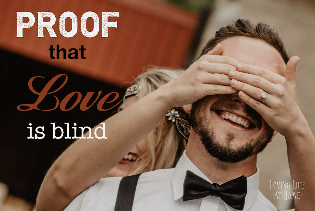 Here's Proof that Love is Blind