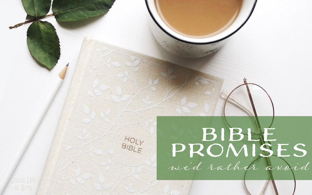 Bible Promises We'd Rather Avoid