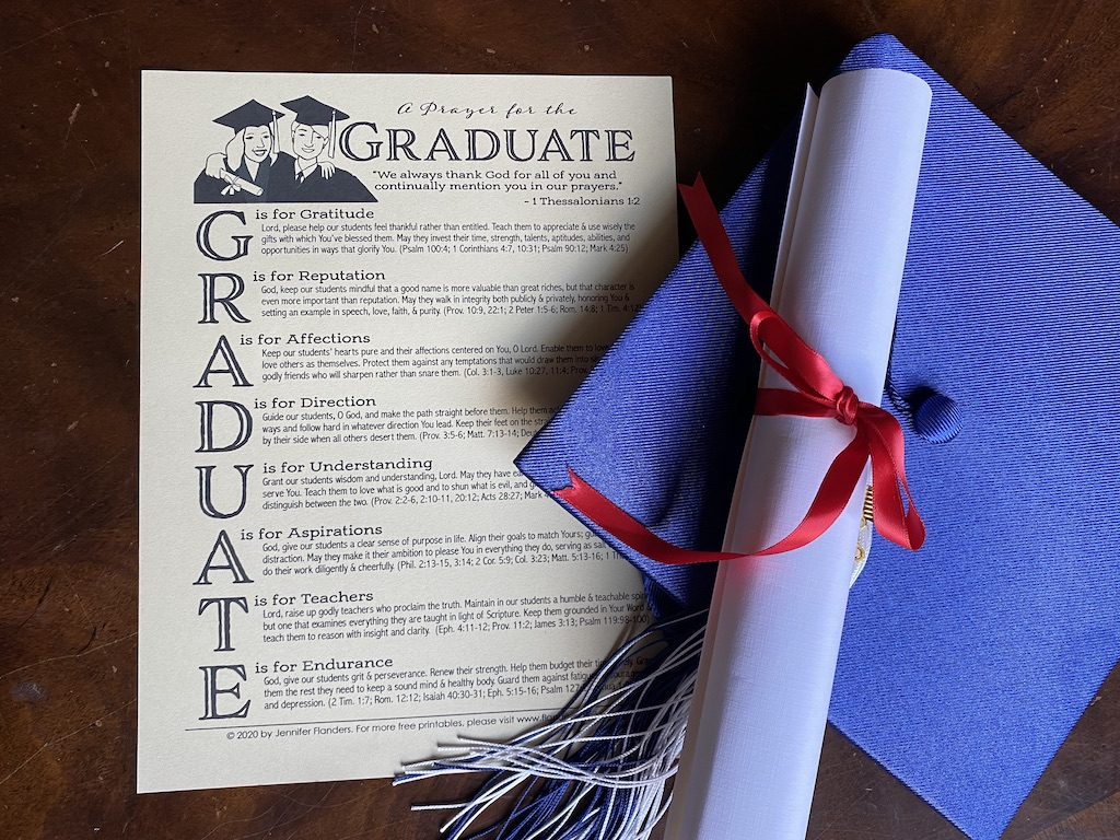 A Prayer for the Graduate