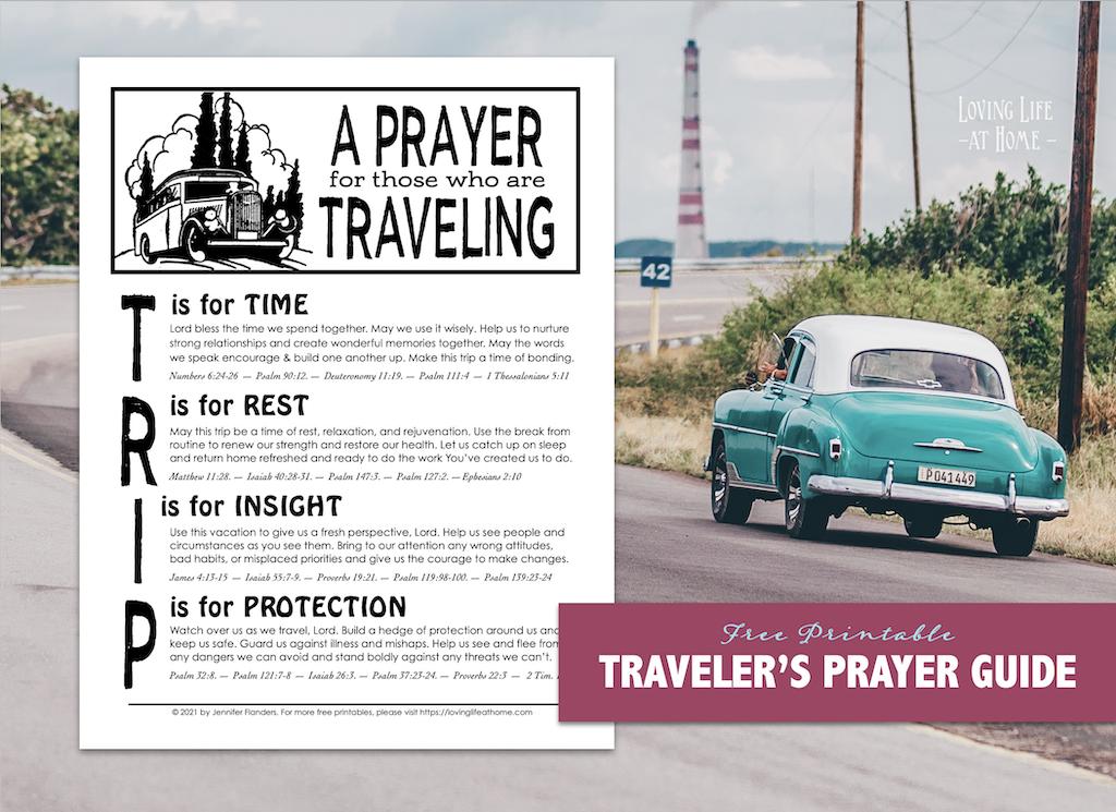 A Prayer for the Traveler