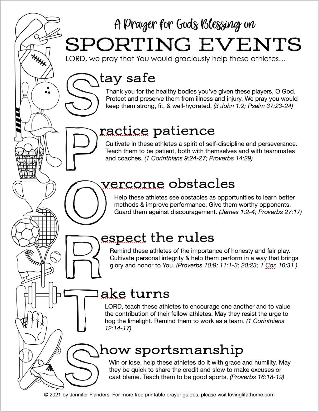 Sports Prayer