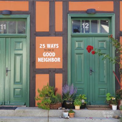 23 Ways to Be a Good Neighbor